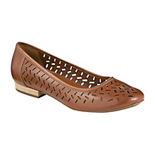 Buy Clarks Henderson Silk Ballerinas Online at johnlewis.com