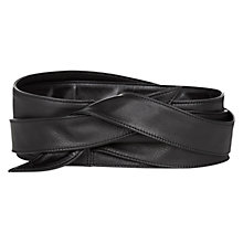 Buy Hobbs Sasha Belt, Black Online at johnlewis.com