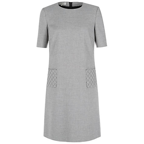 Buy Hobbs Skye Dress, Grey/Ivory Online at johnlewis.com