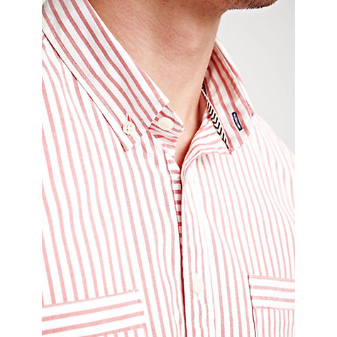 Buy Thomas Pink Volkers Striped Shirt, Red/White Online at johnlewis.com