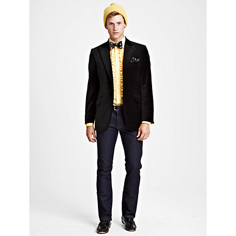 Buy Thomas Pink Viggers Blazer, Black Online at johnlewis.com