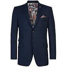 Buy Ted Baker Endurance Purljak Wool Suit Jacket, Navy Online at johnlewis.com