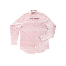 Buy Thomas Pink Digby Striped Shirt, Red/White Online at johnlewis.com