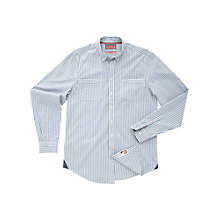 Buy Thomas Pink Volkers Striped Shirt, Blue/White Online at johnlewis.com