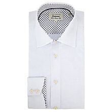 Buy Ted Baker Skylite Dot Print Shirt, White Online at johnlewis.com