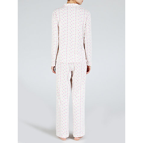 Buy John Lewis Spot Jersey Pyjama Set, Multi Online at johnlewis.com