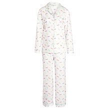 Buy John Lewis Sausage Dog Pyjama Set, Multi Online at johnlewis.com