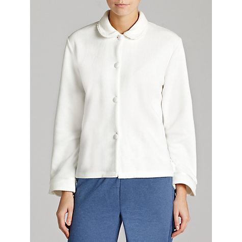 Buy John Lewis Bed Jacket, Ivory Online at johnlewis.com