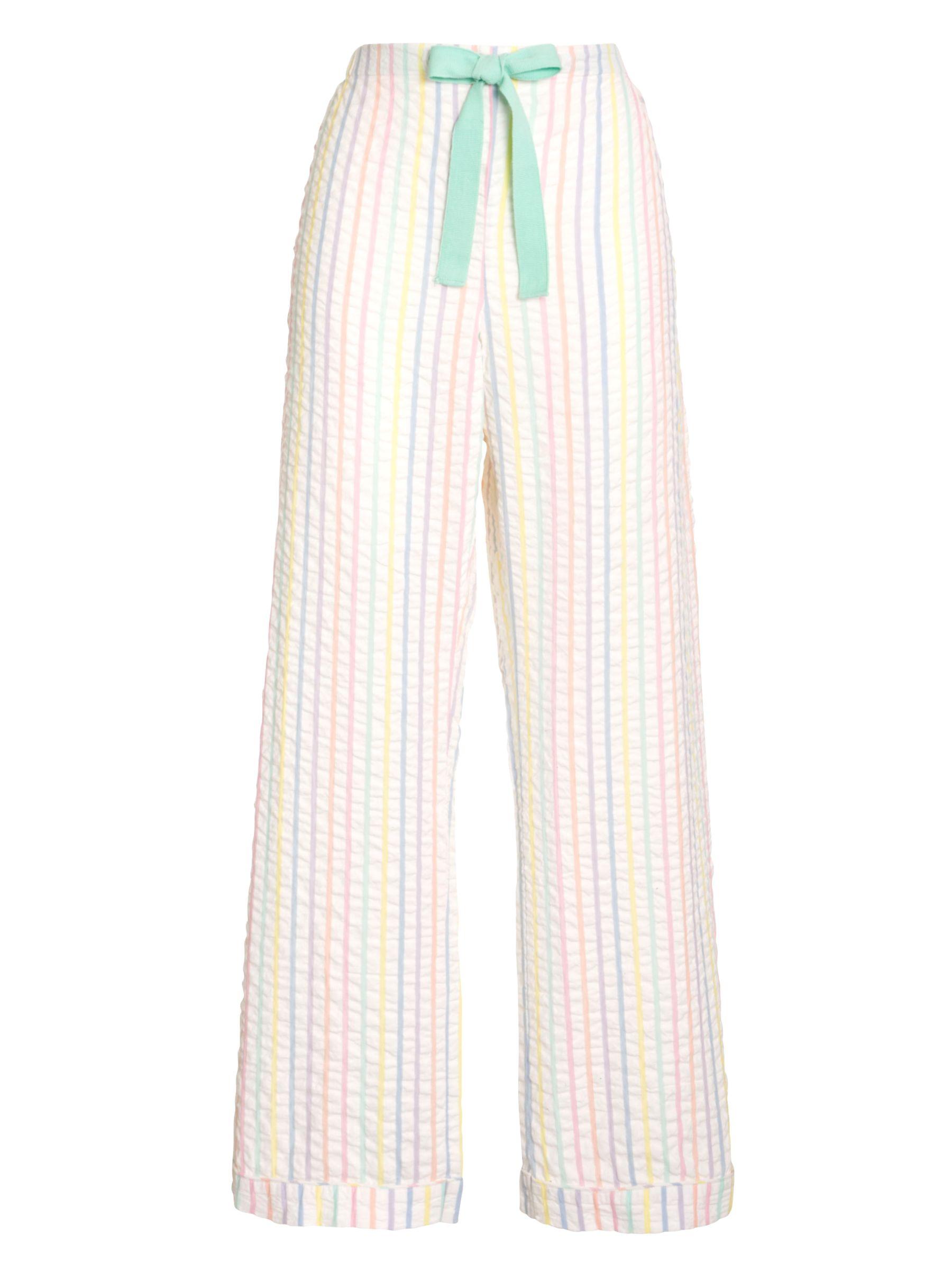 John Lewis Woven Stripe Pyjama Pants, Multi