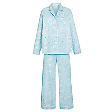 Buy John Lewis Bridgette Floral Pyjama Set, Blue / Multi Online at johnlewis.com