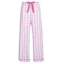 Buy John Lewis Woven Check Pyjama Pants, Multi Online at johnlewis.com