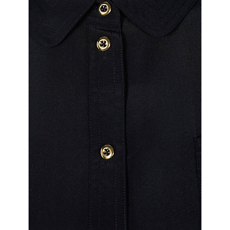Buy Hobbs Parisa Shirt, Navy Online at johnlewis.com