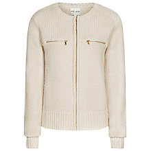 Buy Reiss Garnet Crop Knit, Neutral Online at johnlewis.com