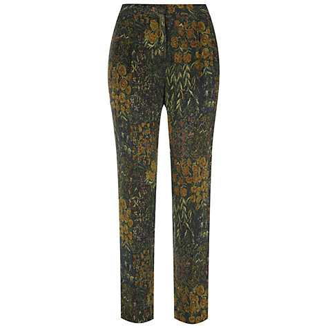 Buy Hobbs Persephone Trousers, Multi Online at johnlewis.com