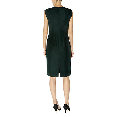 Buy Hobbs Elysia Dress, Pine Green Online at johnlewis.com
