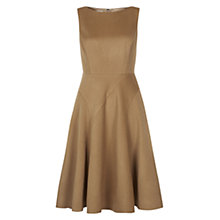 Buy Hobbs Phillipa Dress, Cinnamon Online at johnlewis.com