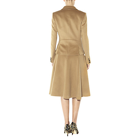 Buy Hobbs Phillipa Skirt, Cinnamon Online at johnlewis.com