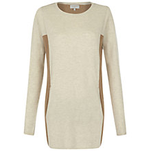 Buy Hobbs Ayla Jumper, Parchment Multi Online at johnlewis.com