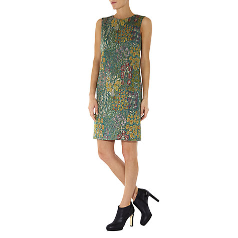 Buy Hobbs Persephone Dress, Pine Multi Online at johnlewis.com