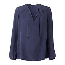 Buy Gérard Darel Blouse, Navy Online at johnlewis.com