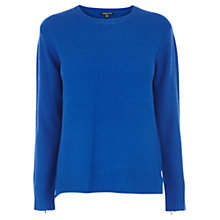 Buy Warehouse Cuff Zip Jumper Online at johnlewis.com
