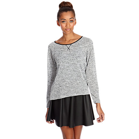 Buy Oasis Sweater, Mid Grey Online at johnlewis.com