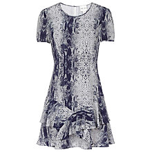 Buy Reiss Roe Snake Print Dress Online at johnlewis.com