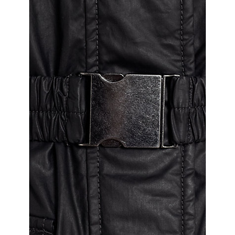 Buy Jigsaw Coated Motorcross Jacket, Black Online at johnlewis.com