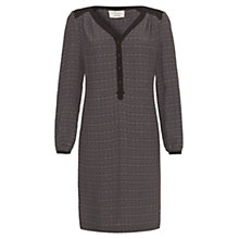 Buy allegra by Allegra Hicks Geometric Sophie Dress, Black Online at johnlewis.com