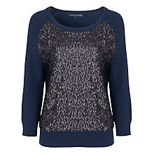 Buy French Connection Sour Sequin Knits Jumper Online at johnlewis.com