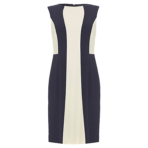 Buy allegra by Allegra Hicks Aubrey Dress, Navy Online at johnlewis.com