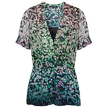 Buy French Connection Hedgerow Blossom Top Online at johnlewis.com