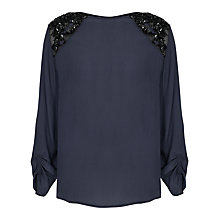 Buy French Connection Encrusted Lace Tunic Top Online at johnlewis.com