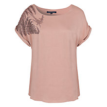 Buy French Connection Forest Fern Top Online at johnlewis.com