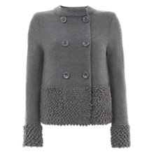Buy Mint Velvet Loopy Hem Cardigan Online at johnlewis.com