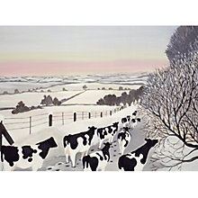 Buy CCA Personalised Fresians In Winter Charity Christmas Cards Online at johnlewis.com