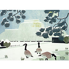 Buy CCA Personalised Kew Gardens Charity Christmas Cards Online at johnlewis.com