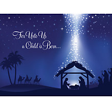 Buy CCA Personalised For Unto to Us Charity Christmas Cards Online at johnlewis.com
