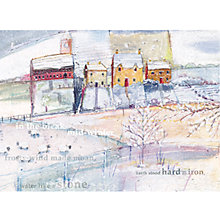 Buy CCA Personlised Bleak Midwinter Charity Christmas Cards Online at johnlewis.com