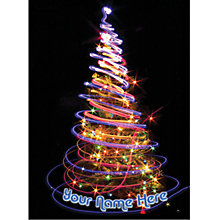 Buy CCA Personalised Spiralling Lights Charity Christmas Cards Online at johnlewis.com