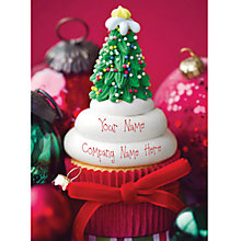Buy CCA Personalised Cup Cake Tree Charity Christmas Cards Online at johnlewis.com