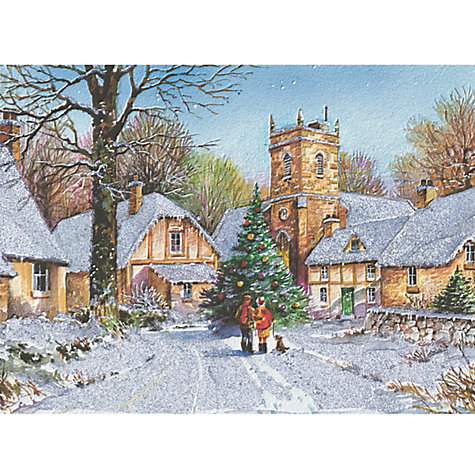 Buy CCA Personalised Winter Walk charity Christmas Cards Online at johnlewis.com