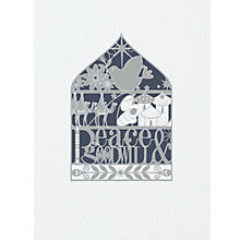 Buy CCA Personalised Peace And Goodwill Charity Christmas Cards Online at johnlewis.com