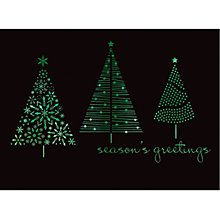 Buy CCA Personalised Designer Trees Charity Christmas Cards Online at johnlewis.com