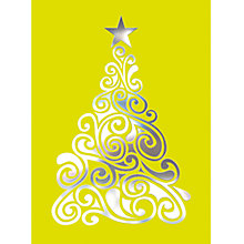 Buy CCA Personalised Tree Of Baubles 2 Charity Christmas Cards Online at johnlewis.com
