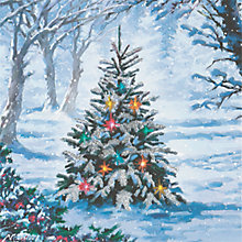 Buy CCA Personalised Forest Tree Charity Christmas Cards Online at johnlewis.com