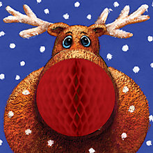 Buy CCA Personalised Rudolph Charity Christmas Cards Online at johnlewis.com