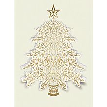 Buy CCA Personalised Golden Tree Charity Christmas Cards Online at johnlewis.com