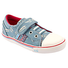 Buy Start-rite Skate Park Canvas Shoes, Blue Online at johnlewis.com