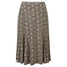 Buy Viyella Deco Floral Jersey Skirt, Navy Online at johnlewis.com